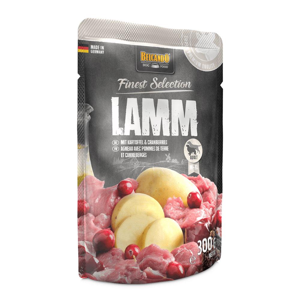 BELCANDO® Lamb with potatoes & cranberries 300g