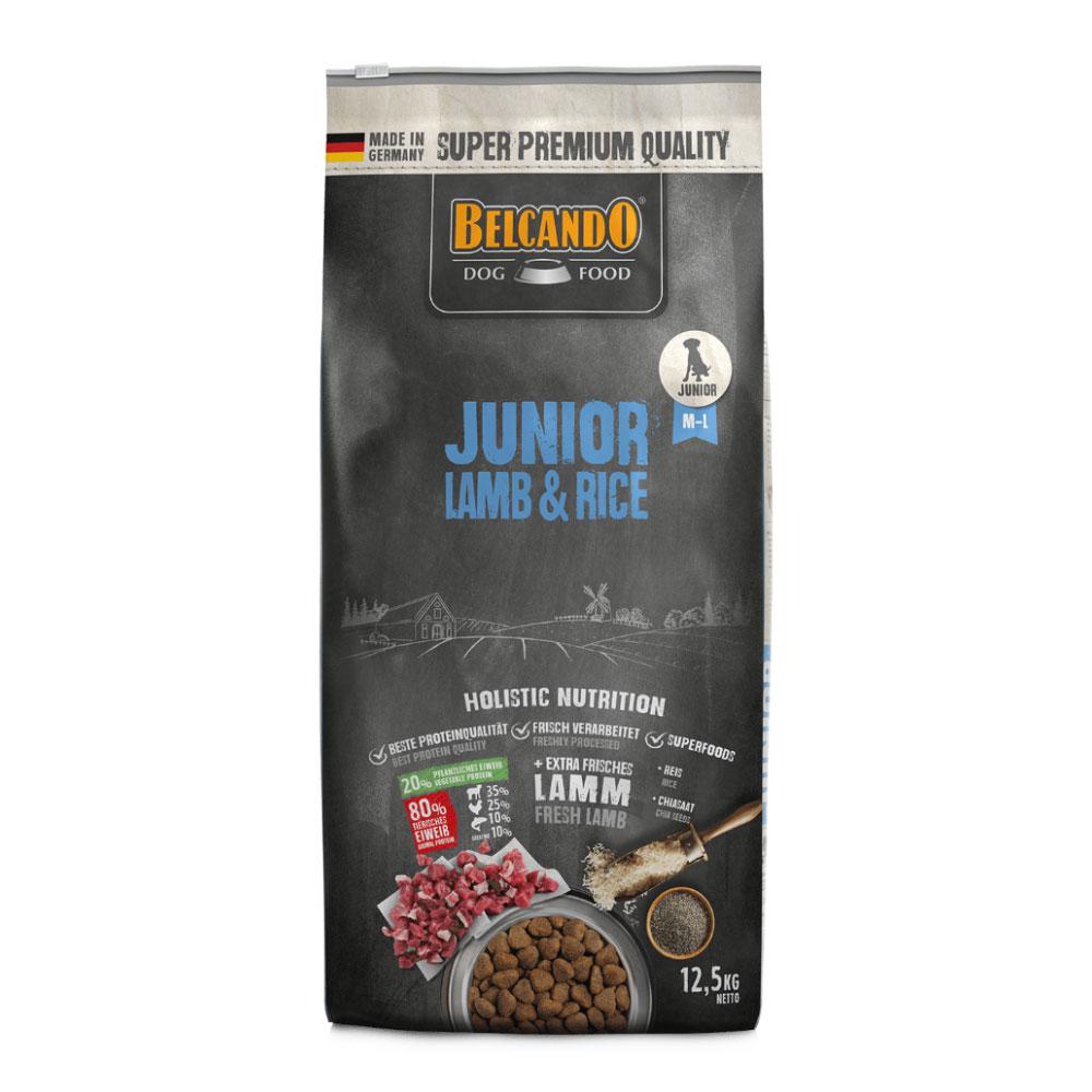 BELCANDO® Junior Lamb & Rice 12.5kg