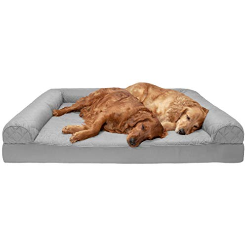 Phenomenal Furhaven Pet Dog Bed Orthopedic Quilted Sofa Style Couch Pet Bed Bralicious Painted Fabric Chair Ideas Braliciousco