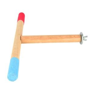 Bird Perch T stand wooden