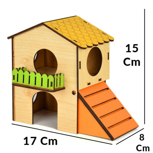 Hamster toy house