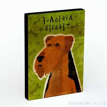 Airedale Terrier Gift