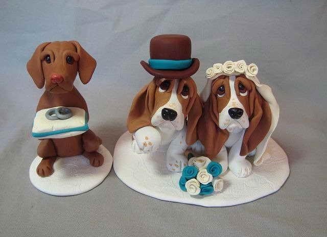 Basset Hound Cake Topper
