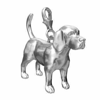 Beagle Charm