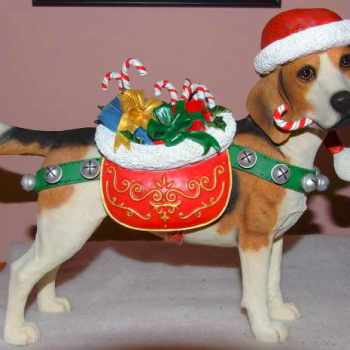 Beagle Christmas Decorations