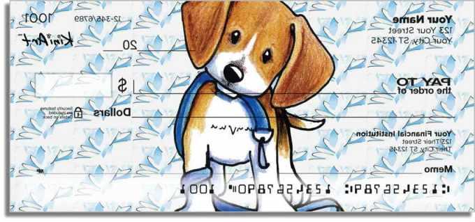Beagle Personal Checks