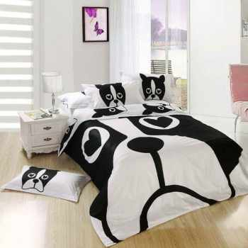 Boston Terrier Bed Sheets