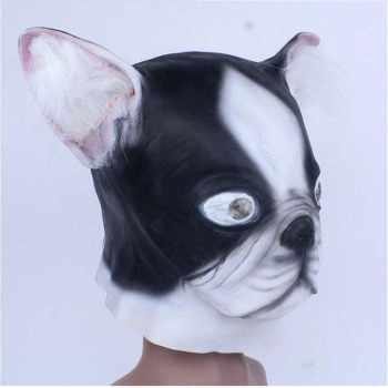 Boston Terrier Mask