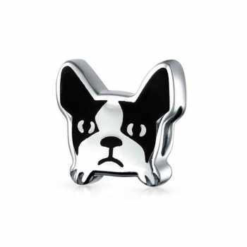 Boston Terrier Pandora Charm
