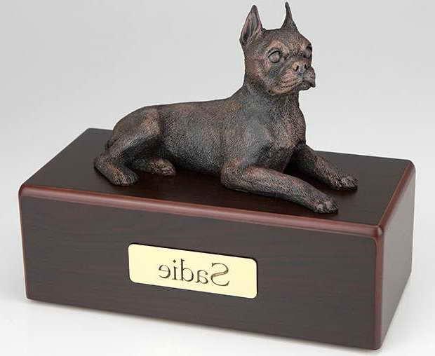 Boston Terrier Urn