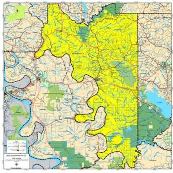 Catahoula Parish Map
