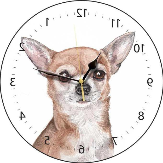 Chihuahua Clocks