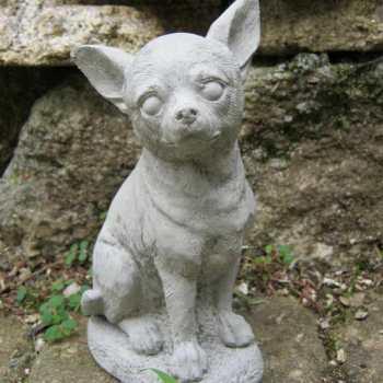 Chihuahua Memorial Statue