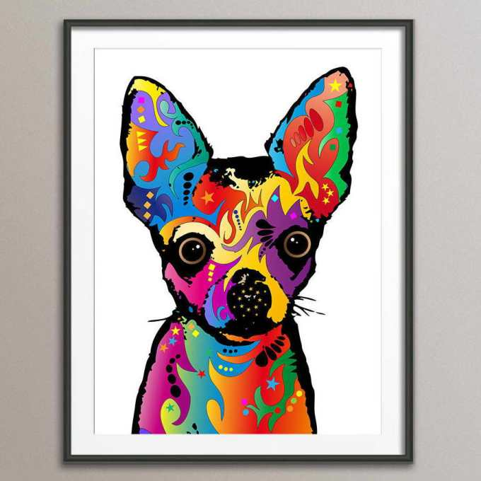 Chihuahua Picture Frames