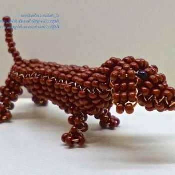 Dachshund Beads