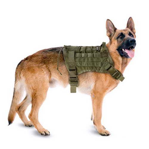 German Shepherd Police Harness