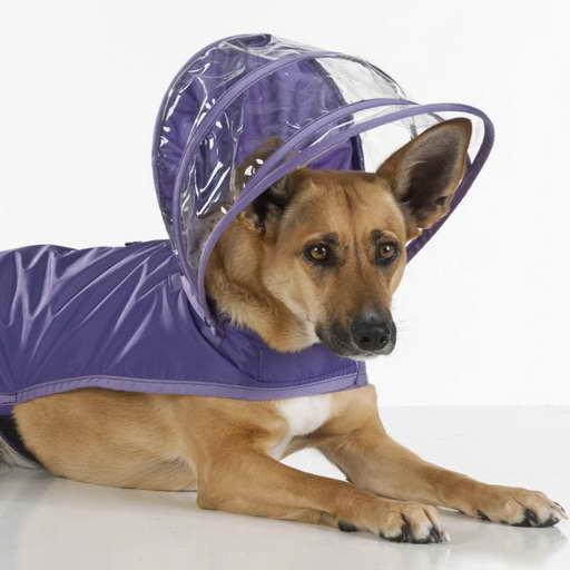 German Shepherd Raincoat