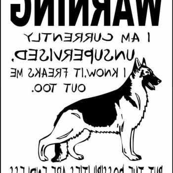 German Shepherd Signs