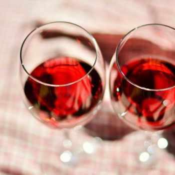 German Shepherd Wine Glass