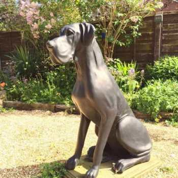 Great Dane Statues Life Size