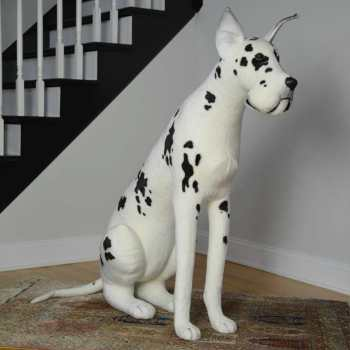 Great Dane Stuffed Animal Toy