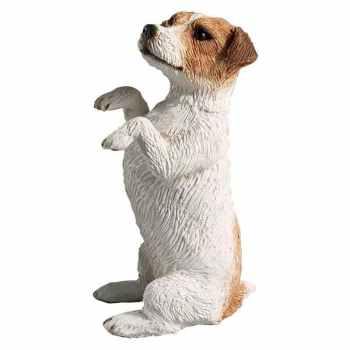 Jack Russell Terrier Garden Statues