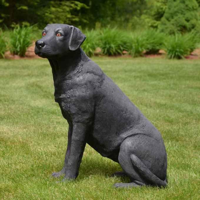 Labrador Dog Statue