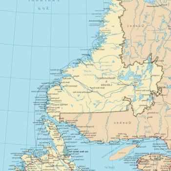 Labrador Map
