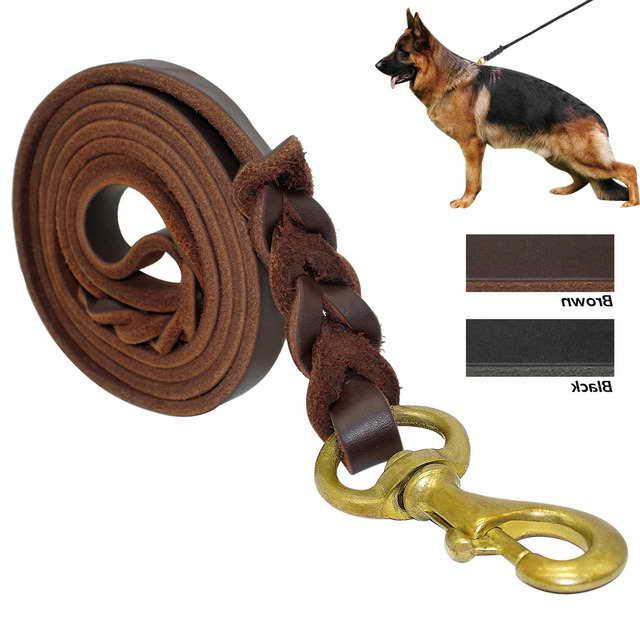 Leather Leash For German Shepherd