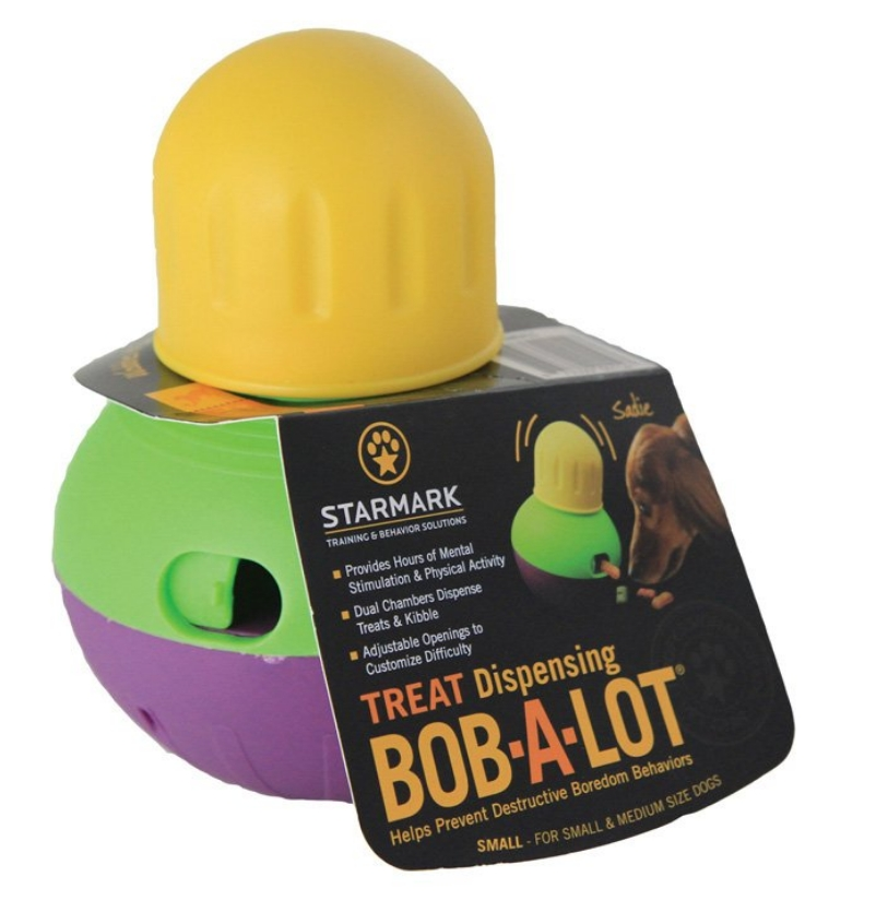 StarMark Bob-A-Lot Interactive Dog Toy review