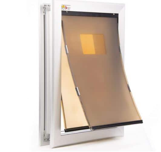 eXtreme Performance Locking Rugged Aluminum Dog Doors for Exterior Doors