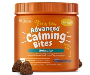 Zesty Paws Calming Bites for Dogs review