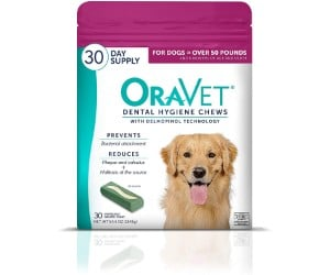 Oravet Dental Hygiene Chews for Dogs for Large Dogs review