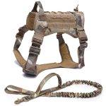 Camouflage Harness and Leash
