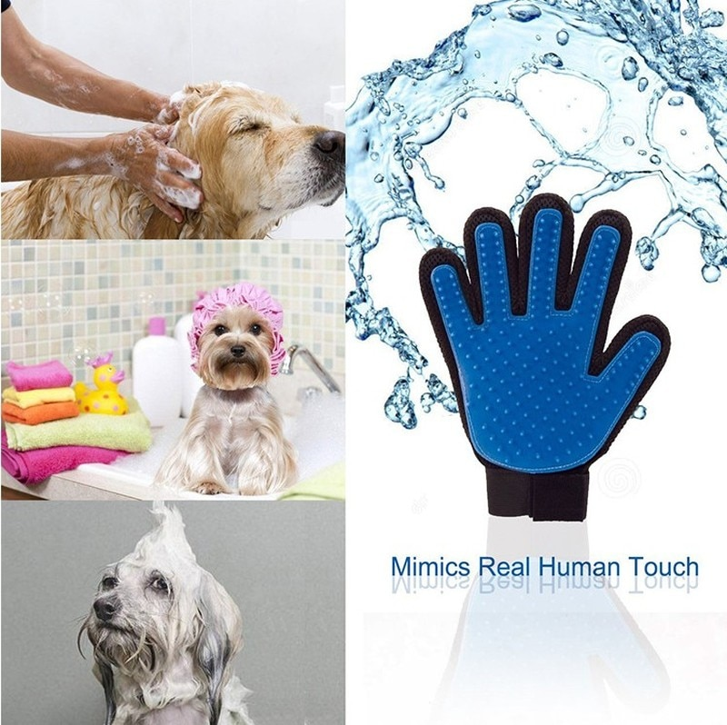 Pet Grooming Glove Left Right Hand