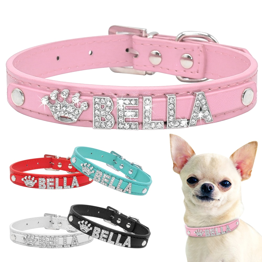 Dog's Bella Crystal Collar