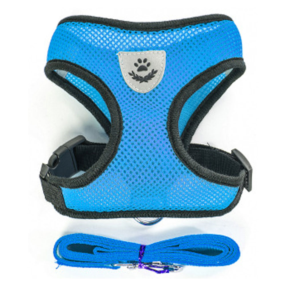 Breathable Small Harness and Leash