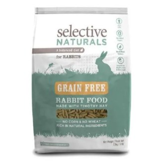 selective grain free rabbit food