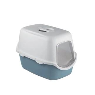 hooded cat toilet