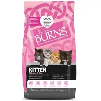 burns kitten food