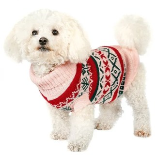 pink jumper for dogs