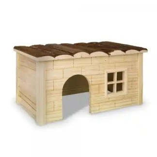 small pet wooden house