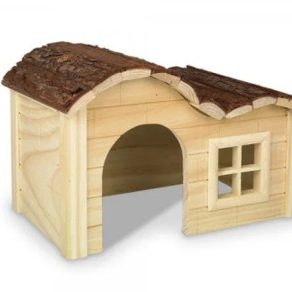 wooden house for small pets