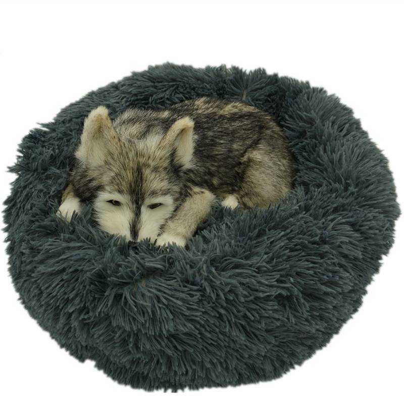 Long Plush Bed for Dogs