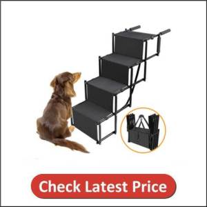 Dog Car Step Stairs Foldable