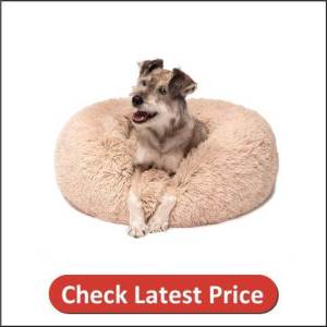 Donut Cat Bed, Faux Fur Dog Beds