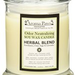 Aroma-Paws-Odor-Neutralizing-Candle-12-Ounce-Herbal-0