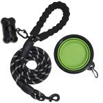 BARKBAY-5-Feet-Reflective-Dog-Rope-Leash-with-Comfortable-Padded-Handle-Strong-Durable-Nylon-for-Medium-Large-Dogs-0-0