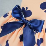 Fitwarm-Sweetie-Ribbon-Pet-Clothes-Dog-Dress-Vest-Shirts-Sundress-0-2