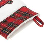 KOOLTAIL-2-Pack-Christmas-Paw-Stockings-18-Plaid-Red-Dog-Bone-Gifts-Bags-Accessories-0-1